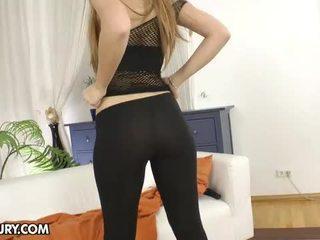 brunete, rotaļlietas, anal sex