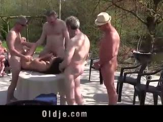 Anita bellini banda banged által 8 régi kívánós cocks