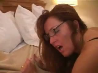 Overspel vrouw in hotel met bbc