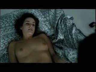 bruneta, pussy lízání, softcore