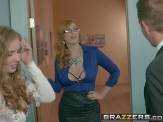 Brazzers - Big Tits at Work - the New Girl Part 3 Scene