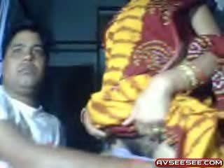 webcam, bébé, indien