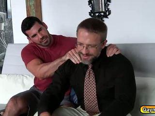 Laba gejs sekss pēc darbs