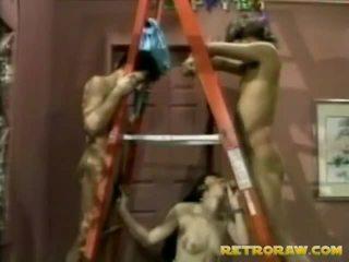 σκατά στο βυζί, retro porn, vintage sex