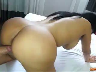 brunette, booty, puta