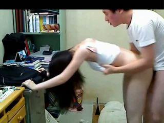 Корейська старший брат трахання її younger sister