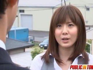סקס הארדקור, יפני, סקס ציבורי