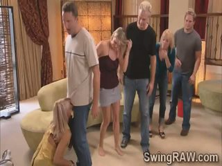 Michael and Kimberly join swinger couples in a wild party