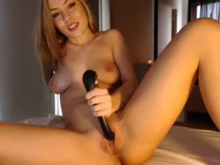 Hot Blonde Doing a Toy Cumshow, Free Amateur Porn Video 08