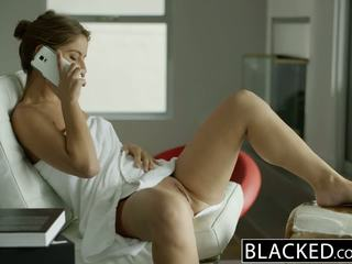 BLACKED California Girl Presley Hart Worships Huge Black Dick