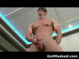 Fantastic Gay Fellow Stripping And Masturbating Cock 8 By Gotmasked