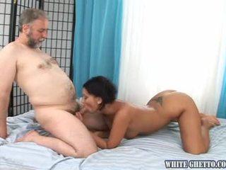 gonzo, natürlichen titten, dunkles haar