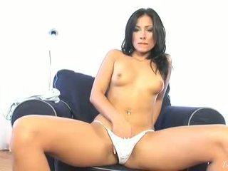 big, brunette, striptease