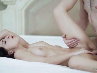 Ciasne gal allie jordan nailed na the łóżko