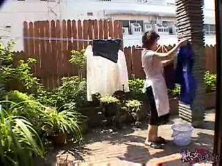 Japanese housewife having strange day xlx