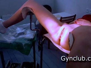 Pilns gyno eksāmens gerl par gyno krēsls, bezmaksas porno 29