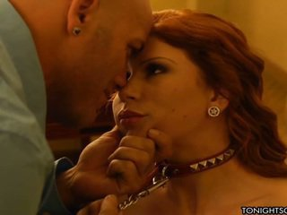 Awesome Brooklyn Lee Meets Client Inside Room To Have Banged And Be Submissive To Rough Client