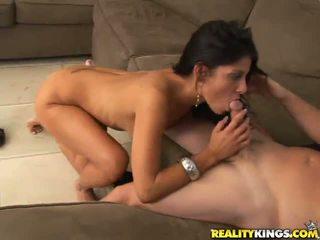 Pleasurable Valerie Sits Onto Good Pri...