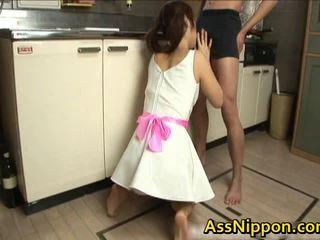 Ann takamiya aziāti floozy enjoys getting