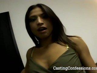 Jaena oso goes wild in haar eerste casting session