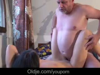 Old Business Man Fucking His Too Horny...