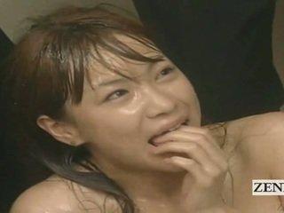 Subtitled enf cmnf louca japonesa ejaculações spattered professora