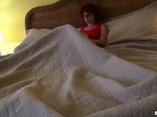 Redhead Chick Zoey Nixon In Glasses Rides A Cock Video