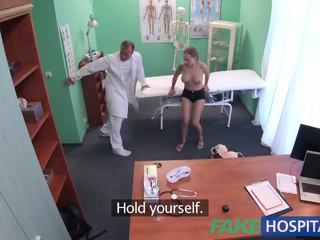 Fakehospital good hard sikiş with patient after earthquake