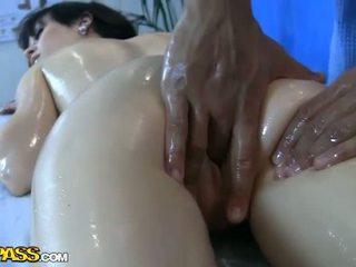 Massage fucking videos with hot girls Video