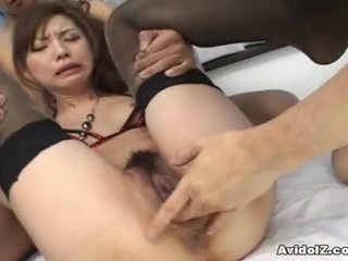 Sexy Oriental Dolls Has Bumped By 2 Horny Guys