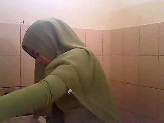Spiare gagal jilbab hijau