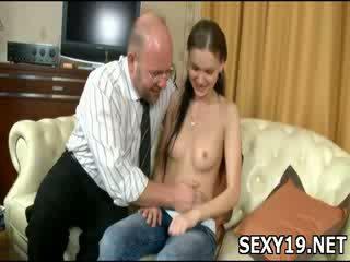Nude chick girl gets fucked sideways