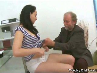 Sexo a três sexo com professora