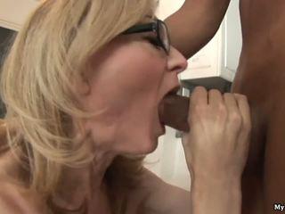 Nina hartley gets रफ handled द्वारा two हॉर्नी ब्लॅक sytuds