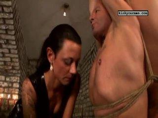 Koninklijk dildo slaaf
