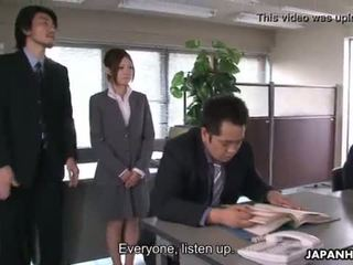 Yoshida getting fodida para baixo sobre dela presentation