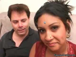 Dirty prostitute from India loves showing
