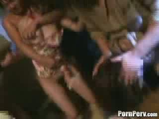 Two Girls Brutally Gangbanged Video