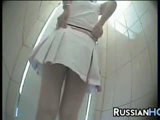 voyeur klipp toalett