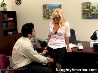 מדורג סקס הארדקור נחמד, החם ביותר בלונדיניות כל, hq סקס במשרד