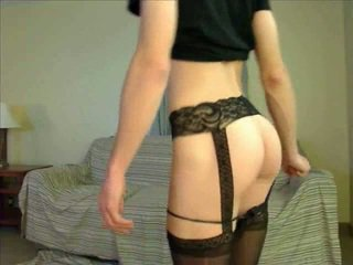 webcam, crossdresser, naistepesu