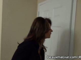 Mature milf deauxma appel lesbienne escorte à venir baise son!