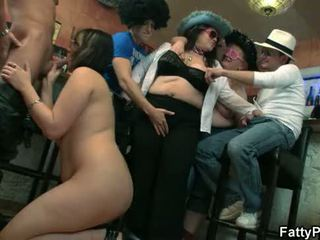 sex-party, bbw gangbang, bbw group