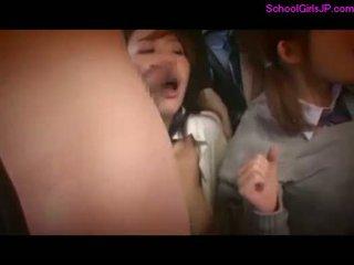 2 schoolgirls rapped fingered gedwongen naar s .
