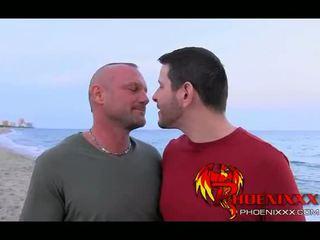 Harig daddy anaal anniversary seks met lover