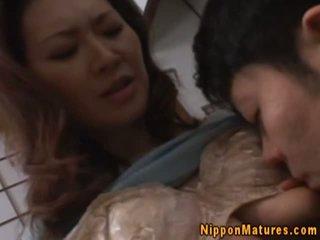日本语 亚洲人 妈妈 being fingered