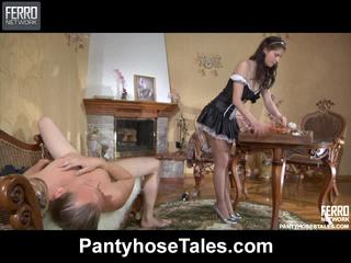 Hot Pantyhose Tales Vid Starring Arthur, Hetty, Beatrice