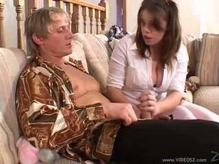 Gia paloma gets fucked līdz tēvs un draugs