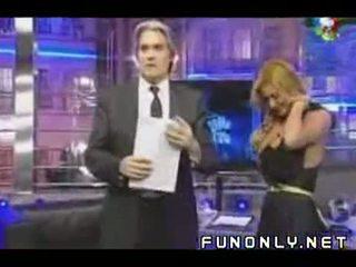 Boob slip apie argentinietiškas televizija