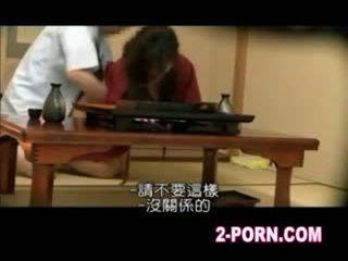 spycam, 아시아의, waitress
